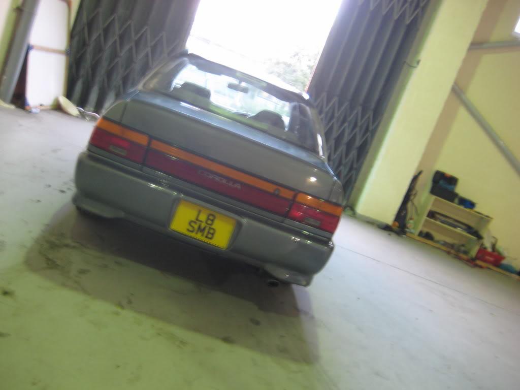 ★ 1993 Toyota Corolla 花冠 ターボ Saloon ★  IMG_2723