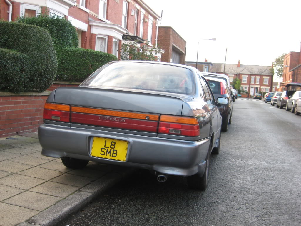 ★ 1993 Toyota Corolla 花冠 ターボ Saloon ★  IMG_2741