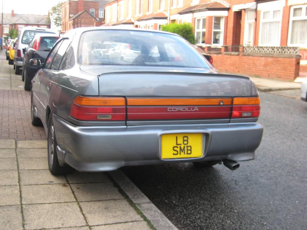 ★ 1993 Toyota Corolla 花冠 ターボ Saloon ★  IMG_2742