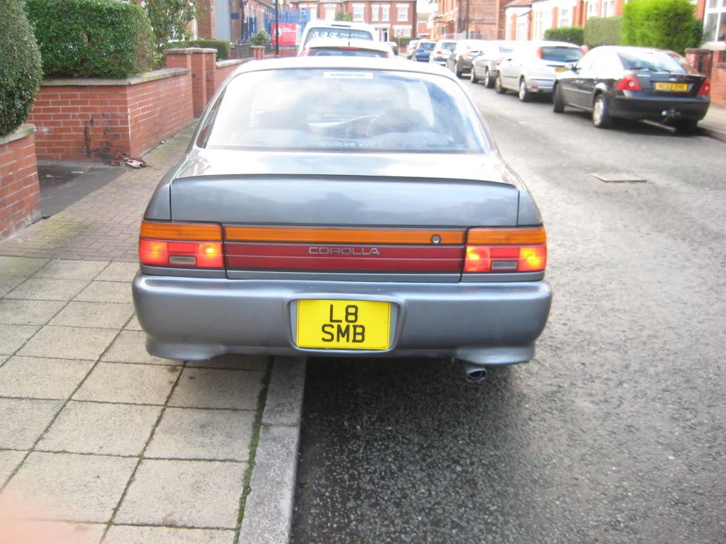 ★ 1993 Toyota Corolla 花冠 ターボ Saloon ★  IMG_2755