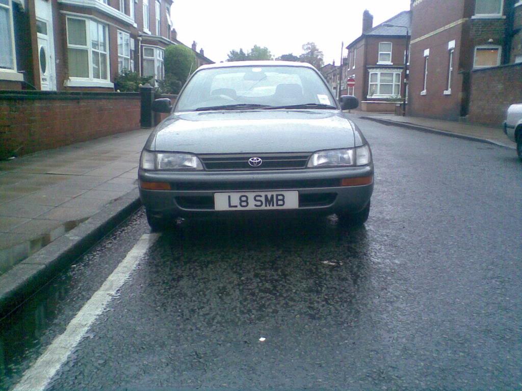 ★ 1993 Toyota Corolla 花冠 ターボ Saloon ★  Image00521