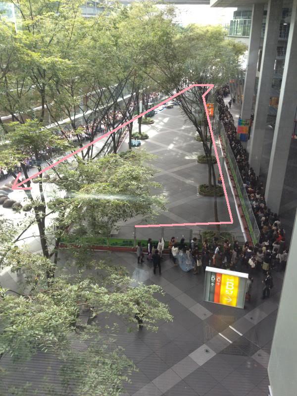 15,200 personas enloquecieron en el evento conmemorativo por el lanzamiento del álbum de Tohoshinki  Ctvxq-tone-release-event-venue