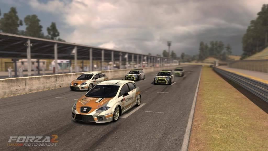 PLOW in BTCC Startofrace3