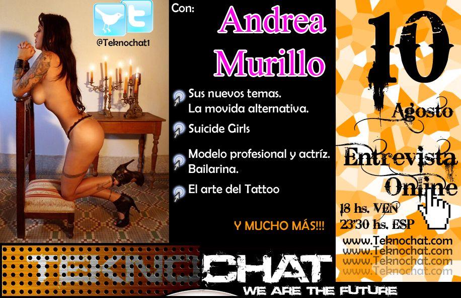 Andrea Murillo. Actríz, cantante, modelo profesional, tatuadora, bailarina Bannerandreamurillo_zpsa27416c8