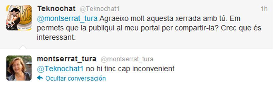Hablando de política con Montserrat Tura (PSC) MontseturatweetsambTKC13_zpsa8221ca3