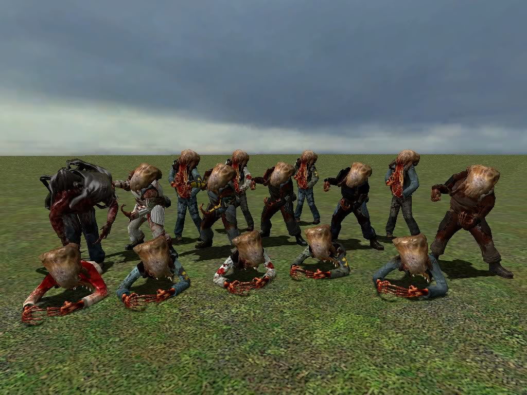 Zombie model Skin Pack V5 Replace Gm_flatgrass0006