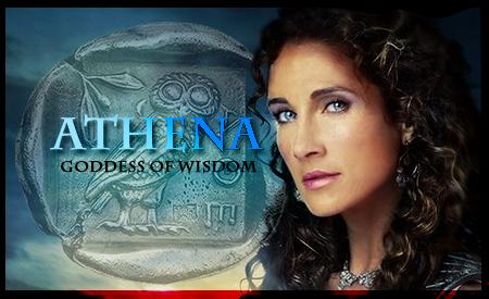 Mythology Banner Athena