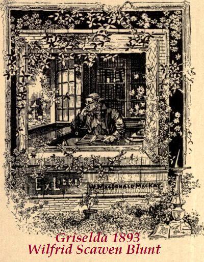 CARTAS DE JANE BURDEN MORRIS A WILFRID SCAWEN BLUNT - Página 6 36Griselda