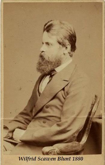 CARTAS DE JANE BURDEN MORRIS A WILFRID SCAWEN BLUNT 28WilfredScawenBlunt1880