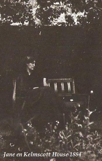 CARTAS DE JANE BURDEN MORRIS A WILFRID SCAWEN BLUNT 32janeenkelmscotthouse1884