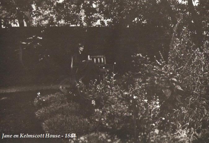 CARTAS DE JANE BURDEN MORRIS A WILFRID SCAWEN BLUNT 35janeenkelmscotthouse1884-copia
