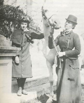 CARTAS DE JANE BURDEN MORRIS A WILFRID SCAWEN BLUNT - Página 3 78lady-blunt-and-sherifa