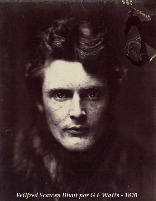 CARTAS DE JANE BURDEN MORRIS A WILFRID SCAWEN BLUNT 9WilfredScawenBlunt1870-lady-alice-mary-kerr-portrait-of-wilfrid-scawen-blunt-c-1870-british-library-copia