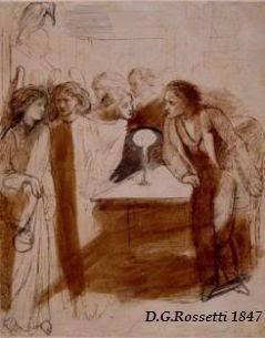 CORRESPONDENCIA PRIVADA ENTRE DANTE GABRIEL ROSSETTI Y JANE BURDEN MORRIS - Página 9 86rossetti-TheRaven-AngelFootfalls-1847