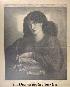 CORRESPONDENCIA PRIVADA ENTRE DANTE GABRIEL ROSSETTI Y JANE BURDEN MORRIS - Página 3 111LaDonnadellaFinestra-copia