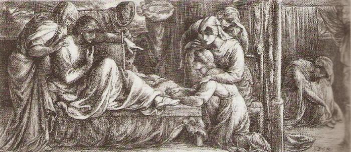 CORRESPONDENCIA PRIVADA ENTRE DANTE GABRIEL ROSSETTI Y JANE BURDEN MORRIS - Página 4 129PredellaDantesDream002