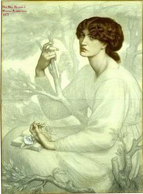 CORRESPONDENCIA PRIVADA ENTRE DANTE GABRIEL ROSSETTI Y JANE BURDEN MORRIS - Página 4 135TheDayDreamMonnaPrimavera-1872