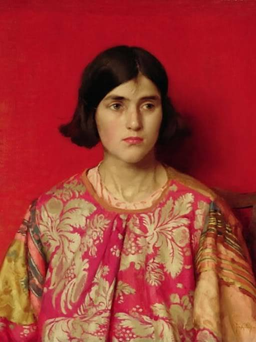 Biografia y Obras de los Pintores de la Hermandad Prerrafaelita - I - Página 31 24Thomas_Cooper_Gotch_-_The_Exile_1930