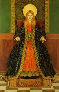 Biografia y Obras de los Pintores de la Hermandad Prerrafaelita - I - Página 31 59the_child_enthroned-suhijaPhyllis-copia