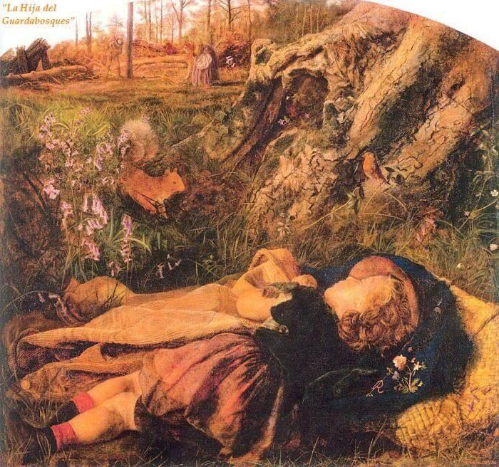 Biografia y Obras de los Pintores de la Hermandad Prerrafaelita - I - Página 32 22TheWoodmansChild