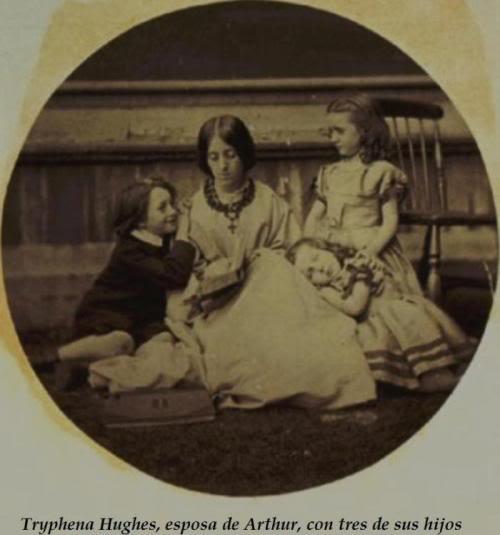 Biografia y Obras de los Pintores de la Hermandad Prerrafaelita - I - Página 31 2TryphenaconArthurJrAmyandAgnes19July1864