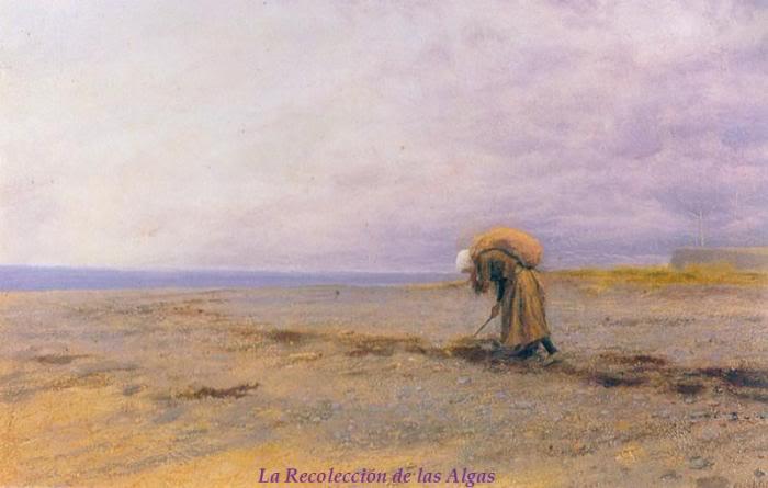Biografia y Obras de los Pintores de la Hermandad Prerrafaelita - I - Página 32 48Pickingupseaweed