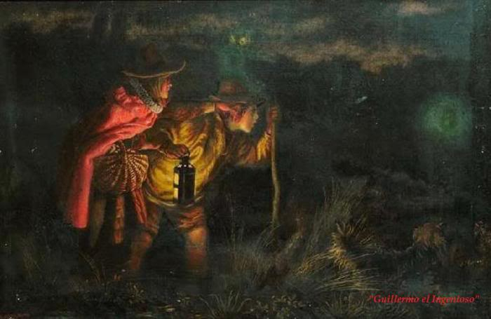 Biografia y Obras de los Pintores de la Hermandad Prerrafaelita - I - Página 32 71WillotheWisp