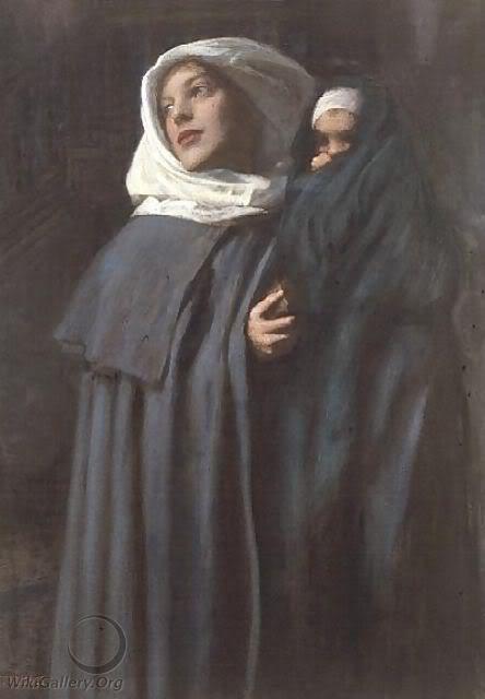 Biografia y Obras de los Pintores de la Hermandad Prerrafaelita - I - Página 33 MotherandChild