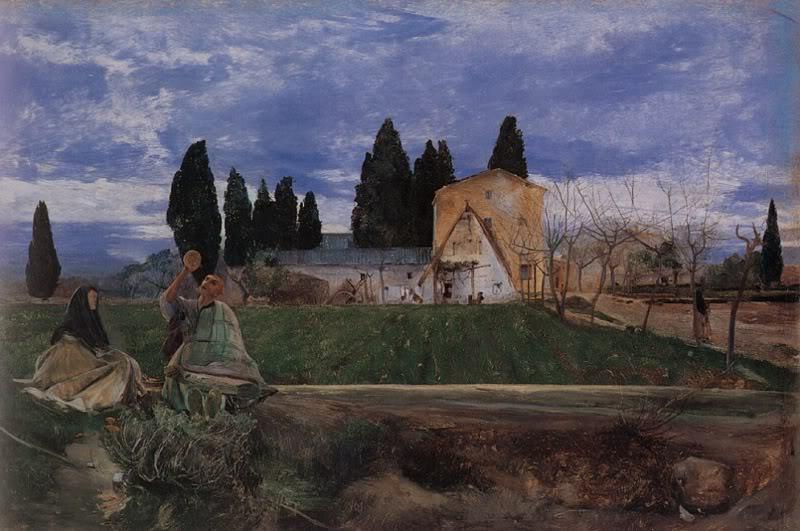 Biografia y Obras de los Pintores de la Hermandad Prerrafaelita - I - Página 33 Springtime_in_spain_near_gordella-large