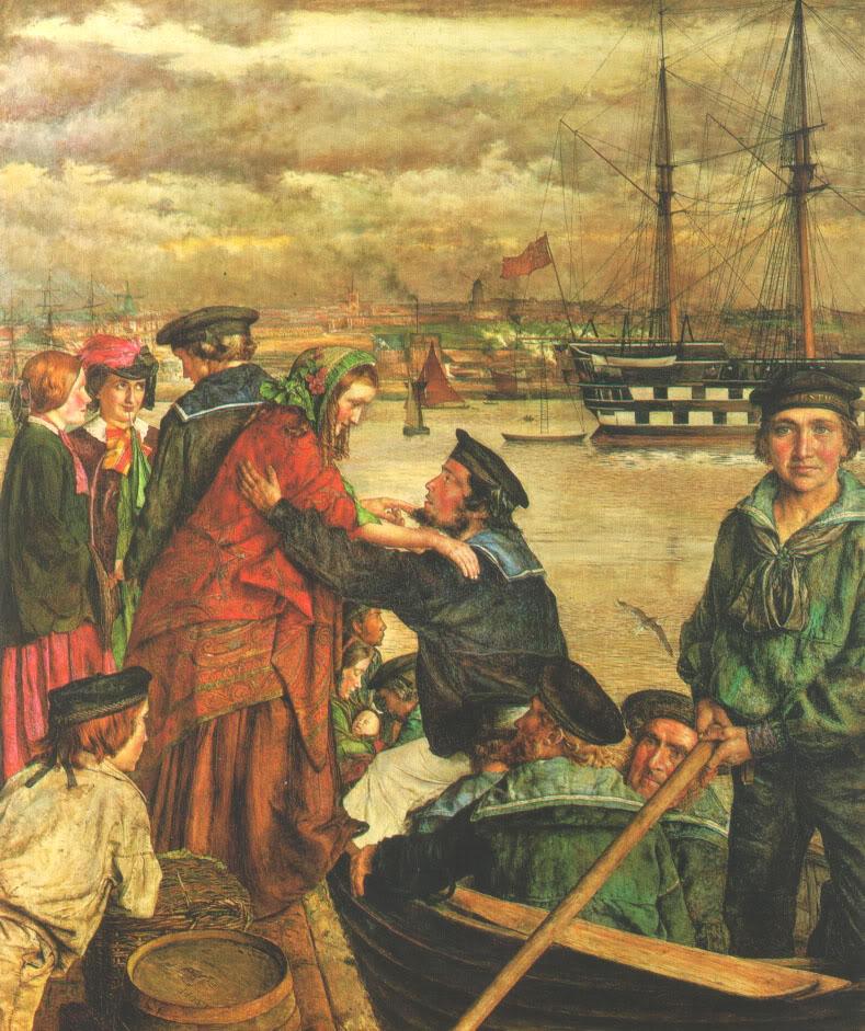 Biografia y Obras de los Pintores de la Hermandad Prerrafaelita - I - Página 33 2Sweethearts_and_Wives