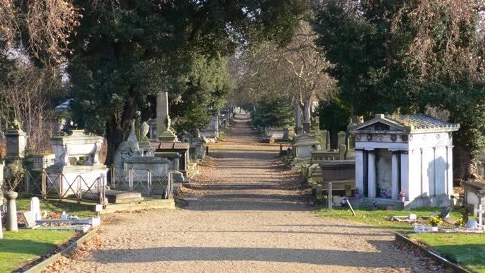 PRE-RAPHAELITE BROTHERHOOD: REQUIESCAT IN PACE 3Kensal_Green_Cemetery_view_December_2005
