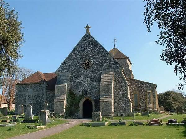 PRE-RAPHAELITE BROTHERHOOD: REQUIESCAT IN PACE 4rottingdean_church
