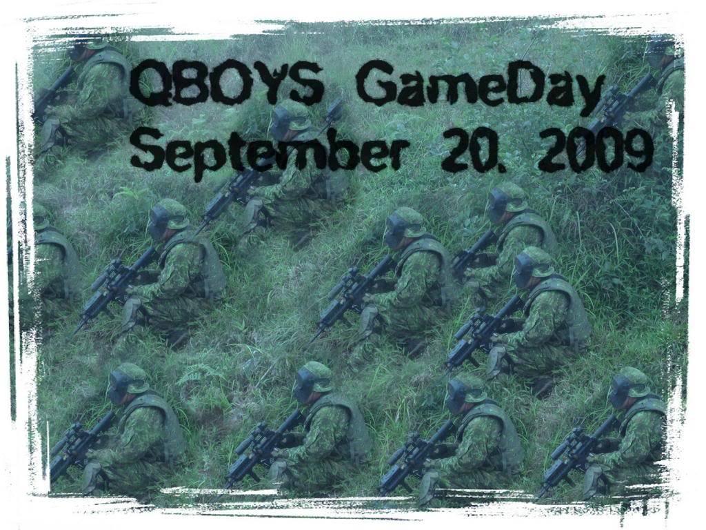 QBOYS Gameday- September 20, 2009 Gameday