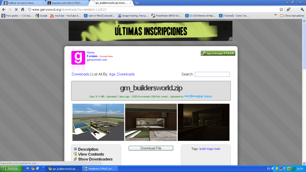 Foro gratis : ~ [ G-man Downloads ] ~ - Chat ImagenesG-Mod2