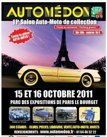 AUTOMEDON 15 et 16 octobre 2011 Automedon