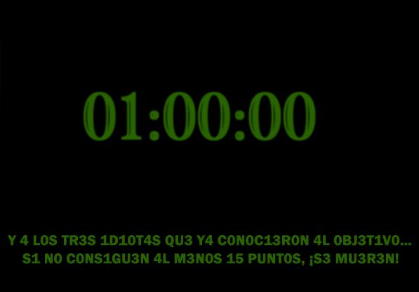 Misión +002 – Espacio y Tiempo. 43563443VCRONOS-1