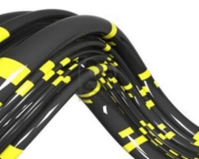 Misión -009 – Universo Paralelo. - Página 2 6658173-cables-negros-con-franjas-amarillas-sobre-el-fondo-blanco