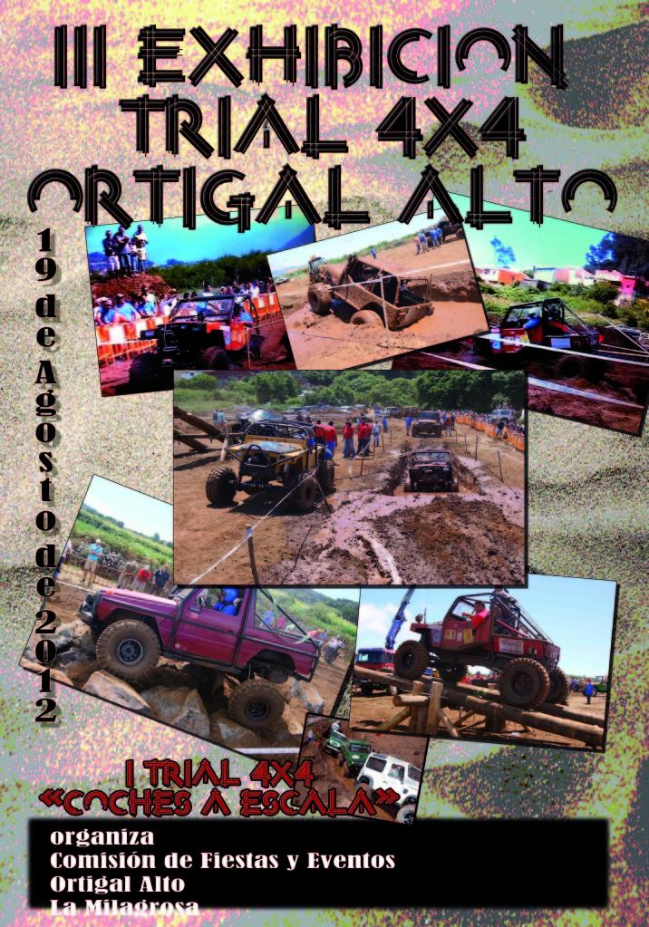 TRIAL EXIBICION 19 DE AGOSTO     -EL ORTIGAL ALTO- CartelTrial4x4-1
