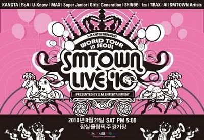 [2/7] [INFO] 2010 SMTOWN Summer Album Song List Smtown