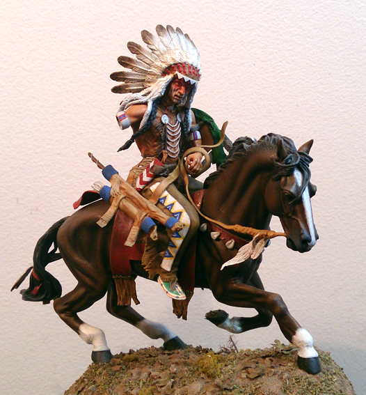 Dakotas Warrior - Seil Models - 75mm (figura e cavalo) DSC_0930_zps1ce8069d