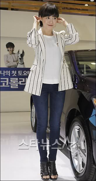 [Photo] Hye Sun tại buổi ra mắt Toyota - Page 3 2011033114230833776_1
