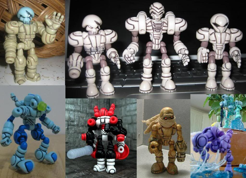 [News] Glyos system - Figurines Glyos : attention les yeux ! Customs