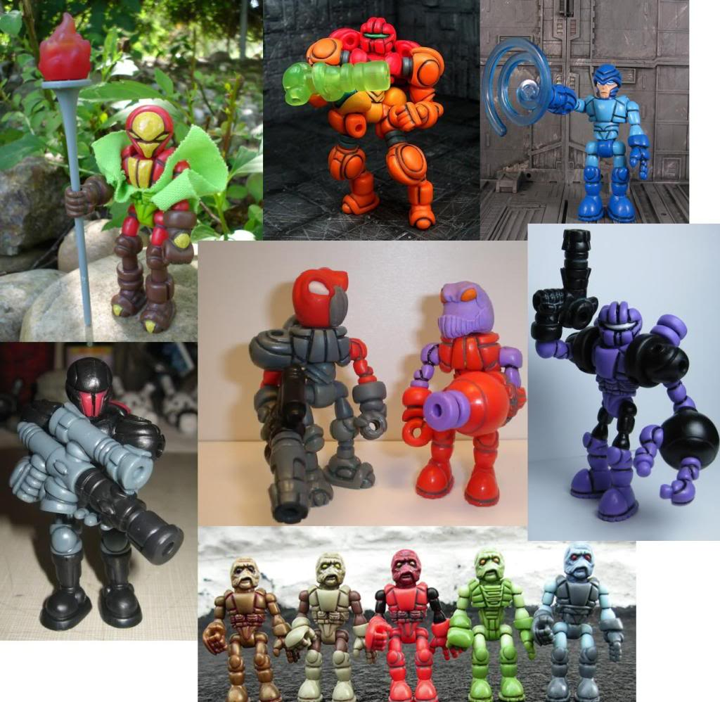[News] Glyos system - Figurines Glyos : attention les yeux ! Customss