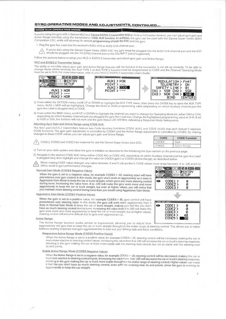 Sanwa Gyro sgs-01c english manual 3453_001