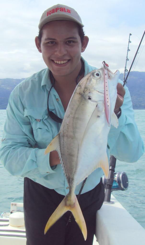 Mis Primeras Piezas en Deep Jigging / Reporte de Pesca Dave Chaves / Costa Rica Jurel6