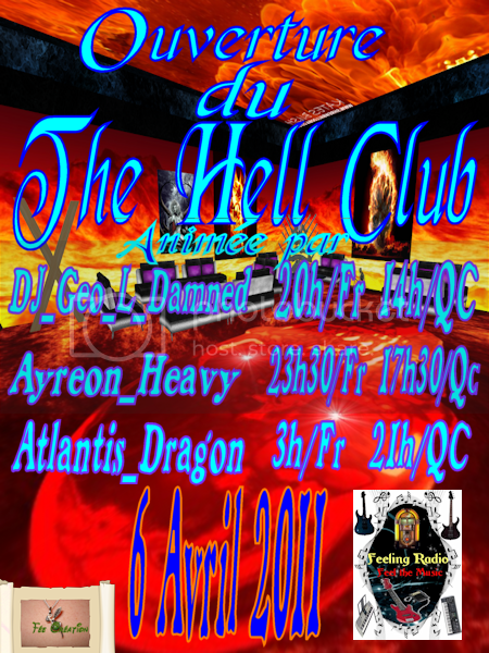 Inauguration The Hell Club ClubTimi_KidAffiche001