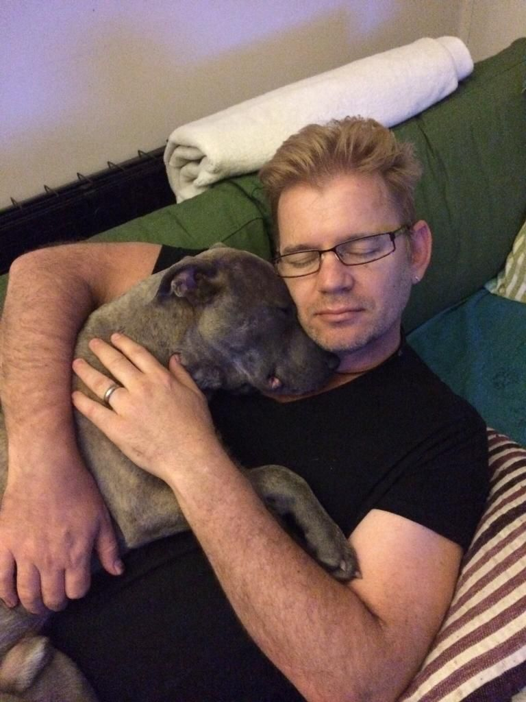 Daddy and doggie cuddling time Imagejpg1_zpsbb9db4c2