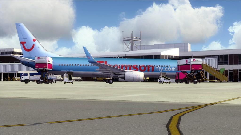 Thomsonfly B738-> Cardiff - Heraklion EGFF-LGIR