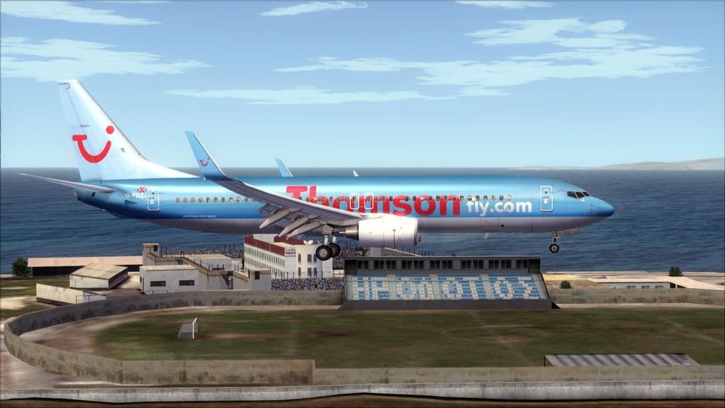 Thomsonfly B738-> Cardiff - Heraklion EGFF-LGIR18