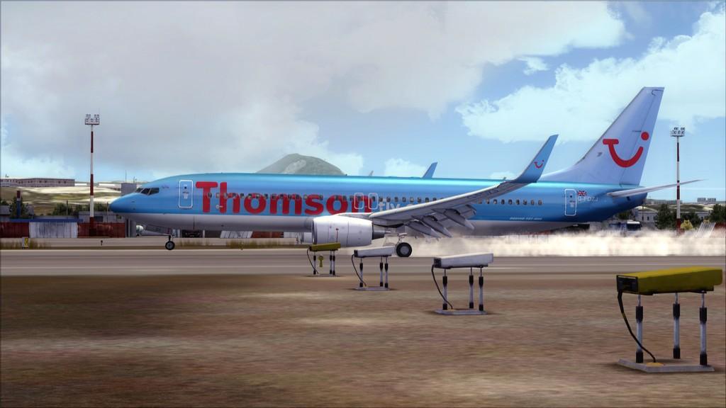 Thomsonfly B738-> Cardiff - Heraklion EGFF-LGIR19